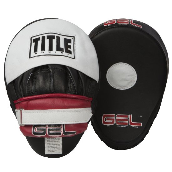 Лапы тренерские TITLE GEL WORLD CONTOURED PUNCH MITTS