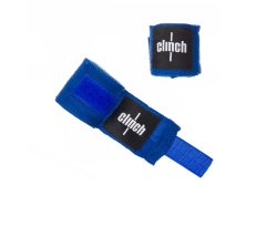 Бинты эластичные CLINCH BOXING CREPE BANDAGE PUNCH Blue