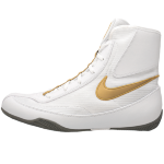 Боксерки NIKE MACHOMAI 2 White/Gold
