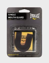 Капа боксерская Everlast SINGLE MOUTHGUARD Black