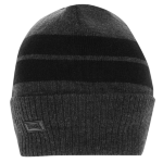 Шапка LONSDALE Turn Up Beanie Hat Mens Grey