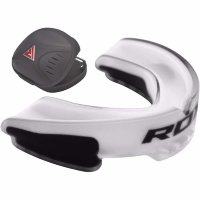 Капа для бокса RDX GEL GUM SHIELD MOUTH GUARD White