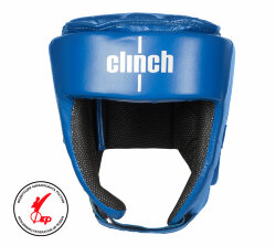 ШЛЕМ ДЛЯ КИКБОКСИНГА CLINCH HELMET ФКР KICK BLUE