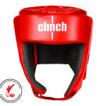 ШЛЕМ ДЛЯ КИКБОКСИНГА CLINCH HELMET ФКР RED