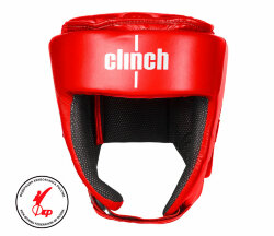 ШЛЕМ ДЛЯ КИКБОКСИНГА CLINCH HELMET ФКР KICK RED