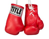 "Брелок TITLE 3.5"" MINI BOXING GLOVES Red"