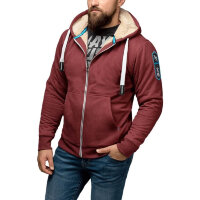 Толстовка Hayabusa Heavyweight Zip Hoodie - Arctic - Red