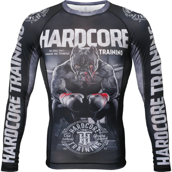 РАШГАРД HARDCORE TRAININGTHE MOMENT OF TRUTH