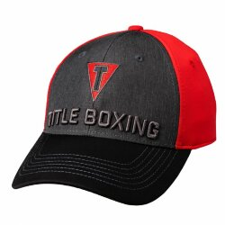Кепка TITLE BOXING TITLE T 3D LOGO FITTED CAP RED
