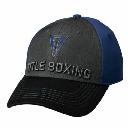 Кепка TITLE BOXING TITLE T 3D LOGO FITTED CAP Navy