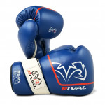 Боксерские перчатки RIVAL RS2V SUPER SPARRING GLOVES 2.0 Blue