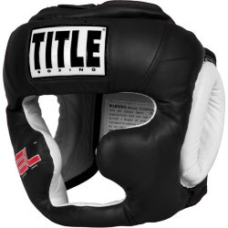 Шлем боксерский TITLE GEL WORLD FULL FACE TRAINING HEADGEAR