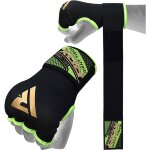 Защита для кулака RDX 75CM GEL INNER GLOVES WITH WRIST STRAP Green
