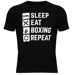 Футболка TITLE BOXING SLEEP EAT BOXING REPEAT